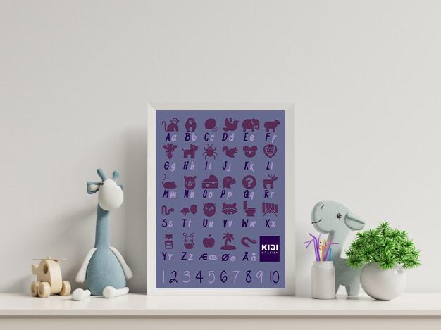 ABC Plakater – ( Indlægside skabelon )